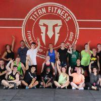 Titan Fitness Logo Group Shot