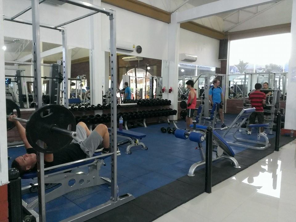 Elite Fitness Phuket Free Weights Section