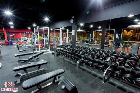 Nai Harn Gym Phuket Weights Secion