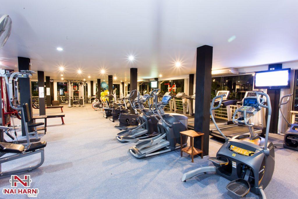 Nai Harn Gym Phuket Cardio Secion