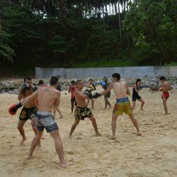 Sutai Muay Thai Beach Training
