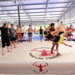 Rawai Muay Thai Ring Training