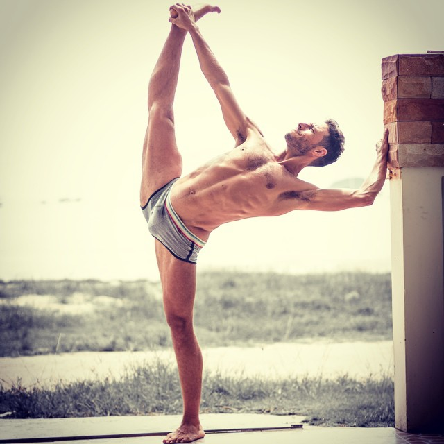 Benefits of Yoga for Men - David Chalong Shot